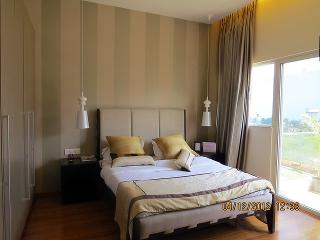 Master bedroom - Show flat of Siddhashila Eira, 2 BHK & 3 BHK Flats in 16 Story 2 Towers with Amenities & Parking on & under the Podium at Koyate Vasti, Punawale, PCMC, Pune 411033