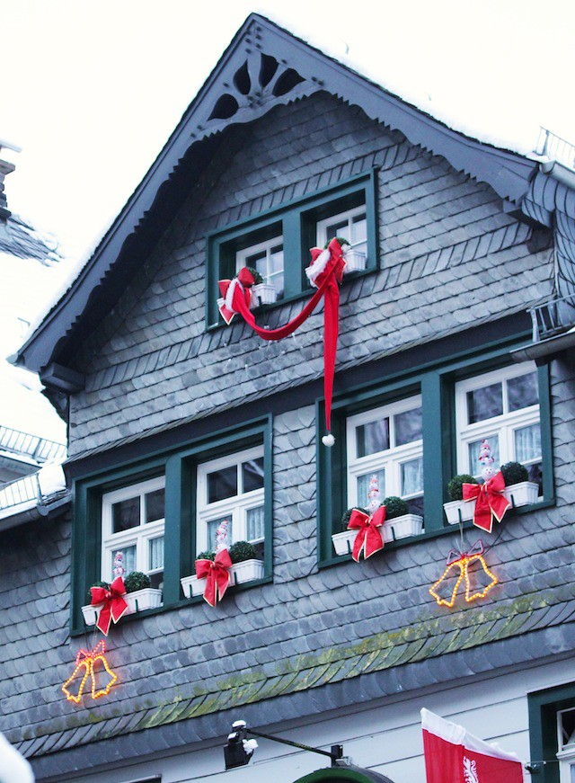 Monschau Christmas decoration