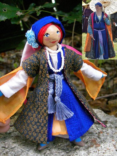 Finished Doll with Over Coat