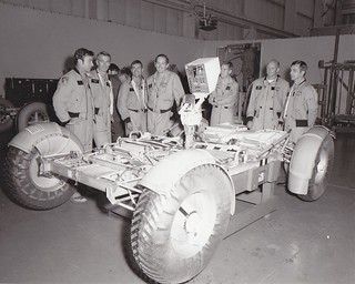 Archive: Apollo Astronauts At Marshall Space Flight Center