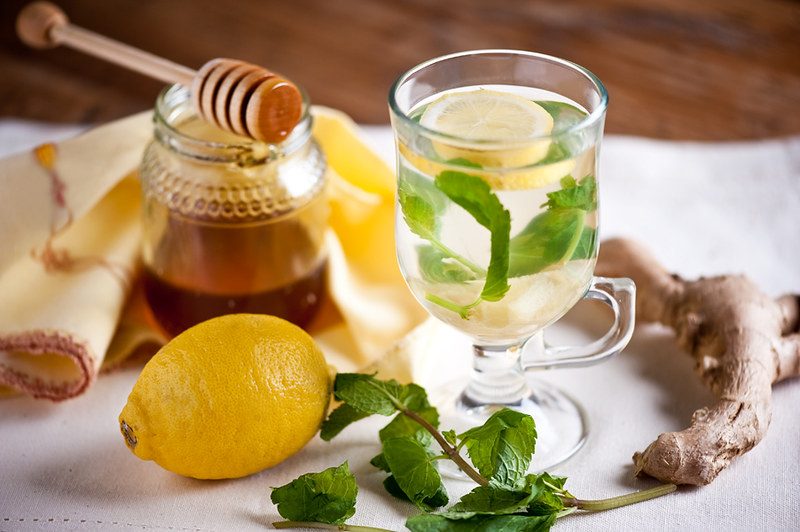 ginger tea by manyukhina via sunniest.ru