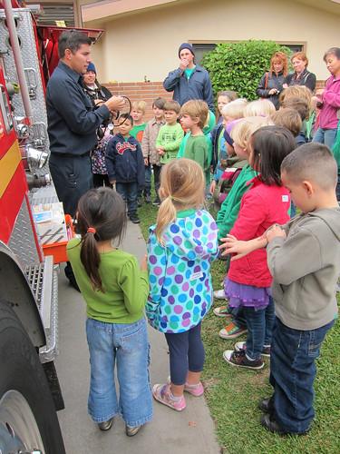 Fireman's presentation