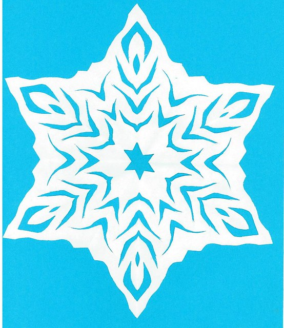 My cutout snowflake | Flickr - Photo Sharing!