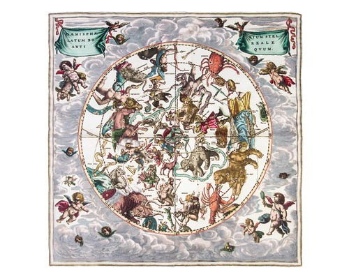 Star chart Cellarius