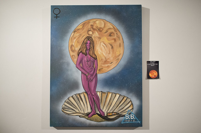 Janis Joplin as Venus goddess of Beauty and Fertility