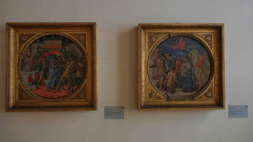 DSCN3796 _ Giudizio di San Maurelio (l), Martirio di San Maurelio (l), Cosmè Tura