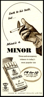 Minors Cigarettes