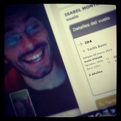 Que fuerte!!!! Acabamos de comprar y reservar un viaje a Roma para Enero! Autoregalo de reyes! Oh Yeah! Con @ajbazalo