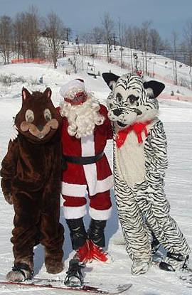Christmas Snow Monsters Crystal Mt.