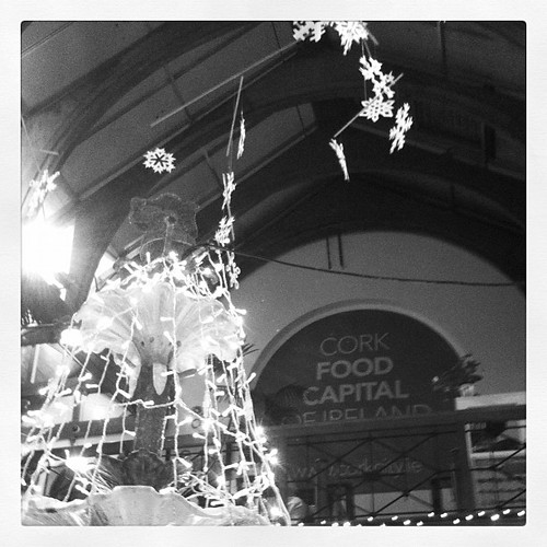 #Cork's English Market decorated for #Christmas