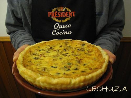 Hojaldre de queso y champis Président (52)