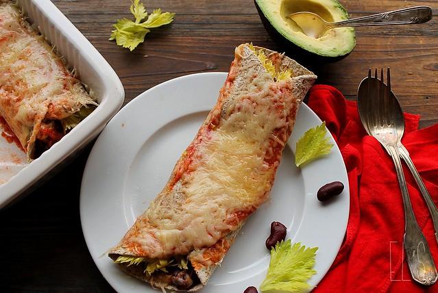 Enchiladas au chili