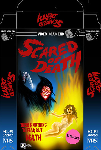Scared of Death by Marc Palm AKA Swellzombie