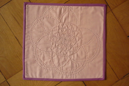 Hand Quilting Trial I