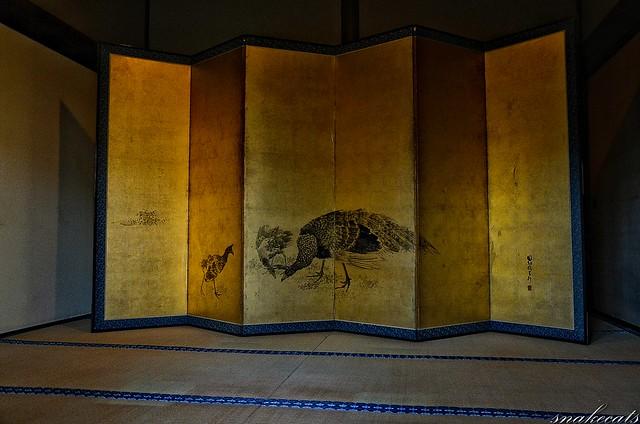 「孔雀図」 建仁寺 - 京都