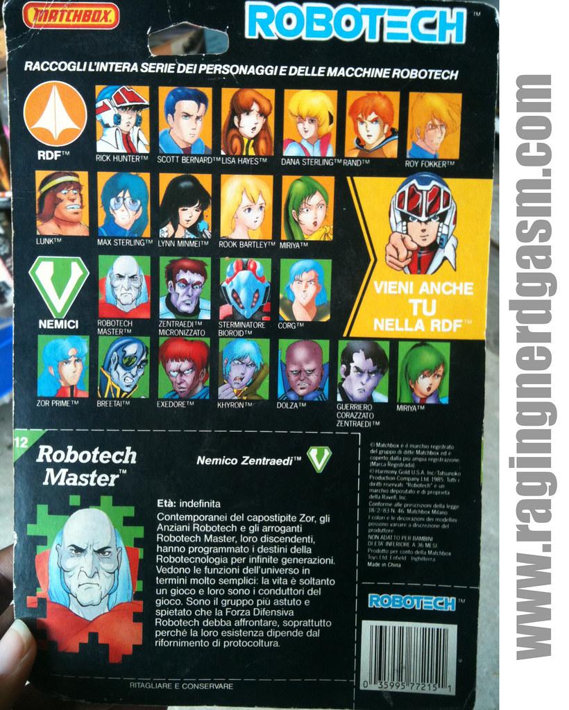 Robotech by Matchbox Robotech Master  (2)