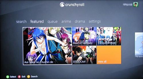 Review: Crunchyroll Xbox 360 App – :: Ani-Gamers