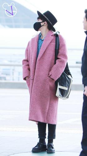 Big Bang - Incheon Airport - 21mar2015 - G-Dragon - G_Vaby - 09