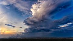 Thunderstorm over Boerne, Texas