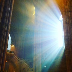 Incense and Sunlight, Liverpool Cathedral.