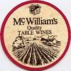 ephemera - McWilliam's wine coaster