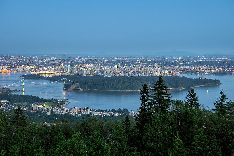 Vancouver from Cypress