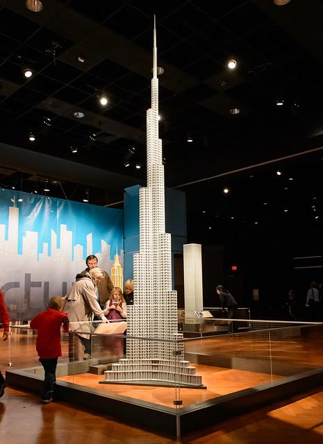 burj khalifa lego architecture exhibit at the henry ford