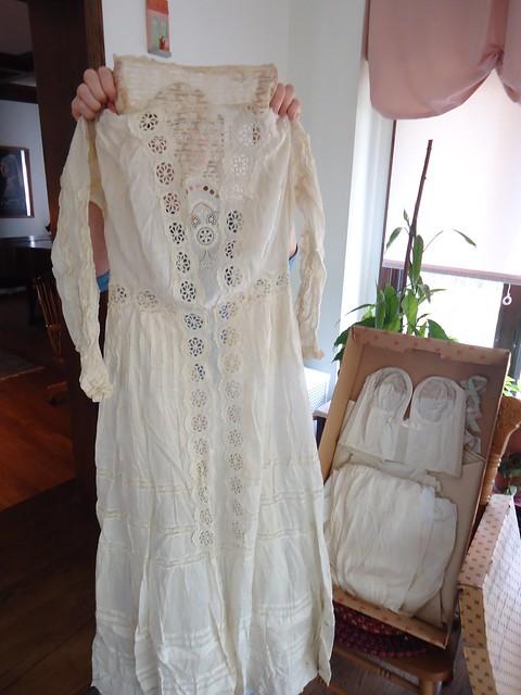 Wedding Dress And Undergarments Worn By Augusta Gatzke 1908