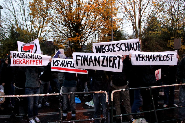 VS Auflösen - Rassismus Bekämpfen | 10.11.2012 Köln Chorweiler