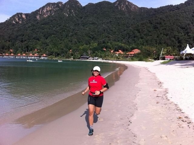 Running + Beach = Awesome