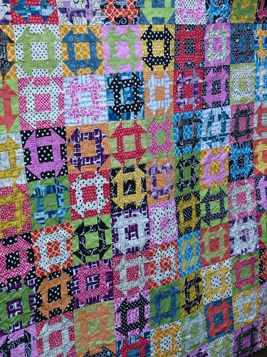Churn Dash - A Brit Bee Quilt
