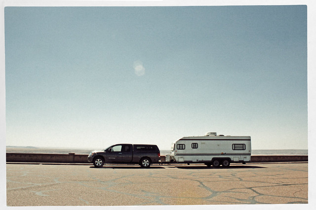 RV at the Painted Desert/Petrified Forest