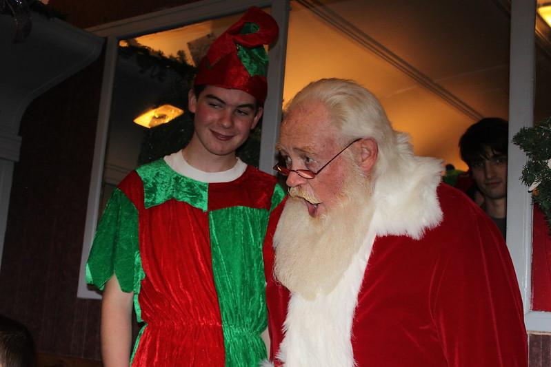 Cape Cod Polar Express Santa
