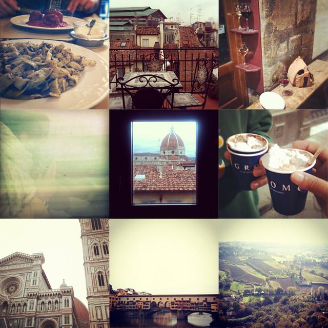 firenze & orvieto instagrams
