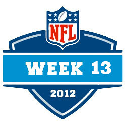2012-13 NFL Week 13 Logo