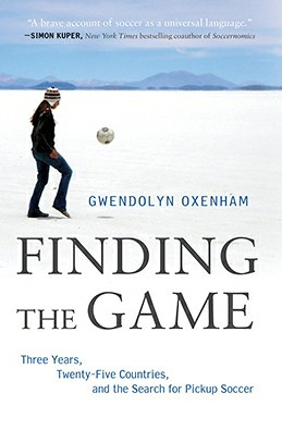 Finding_The_Game by Gwendolyn Oxenham, book cover