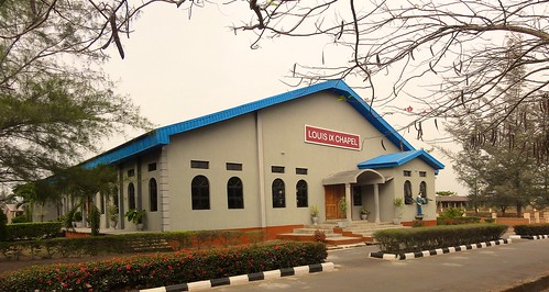 The Louis IX chapel at Louisville High School, Ijebu-Itele, Ogun State, Nigeria