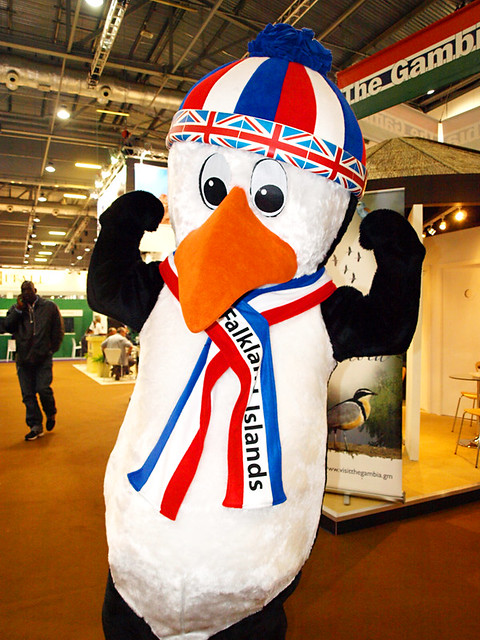 Falkands Penguin, World Travel Market, London