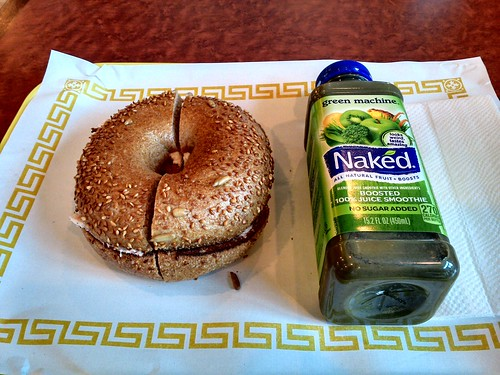 Sesame Whole Grain Bagel