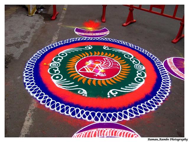 Rangoli Designs For Competition With Concepts Ganpati rangoli designs