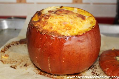 Calabaza rellena bacpn cuatro quesos (12)
