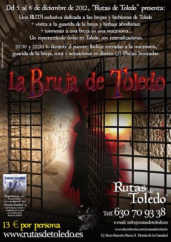 """Evento especial para el puente de diciembre: """"La Bruja de Toledo"""""""