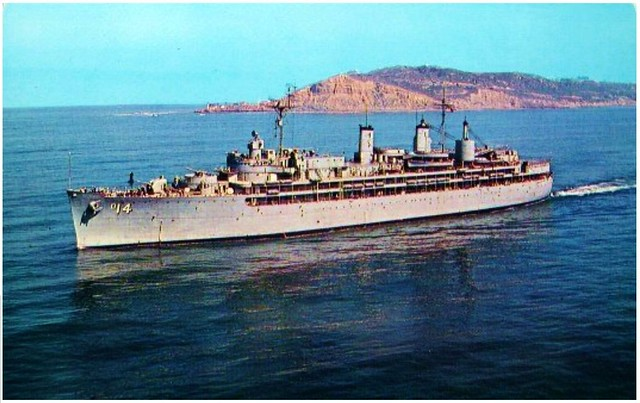 Uss Dixie Off Point Loma My Hometown Of San Diego