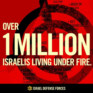 Infographics: Over 1 Million Israelis Living under Fire