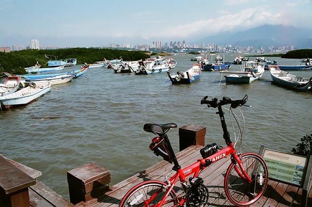 淡水、單車、底片