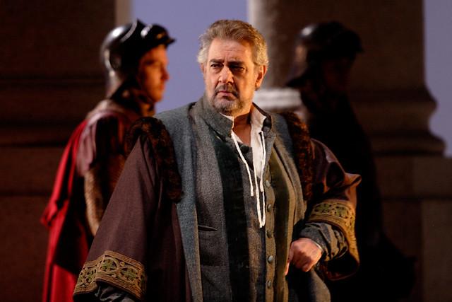 Plácido Domingo in Simon Boccanegra © Catherine Ashmore