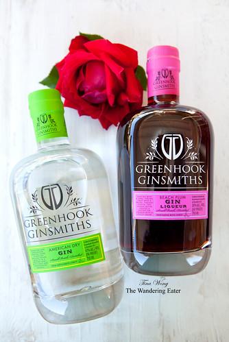 American Dry Gin & Beach Plum Gin Liqueur