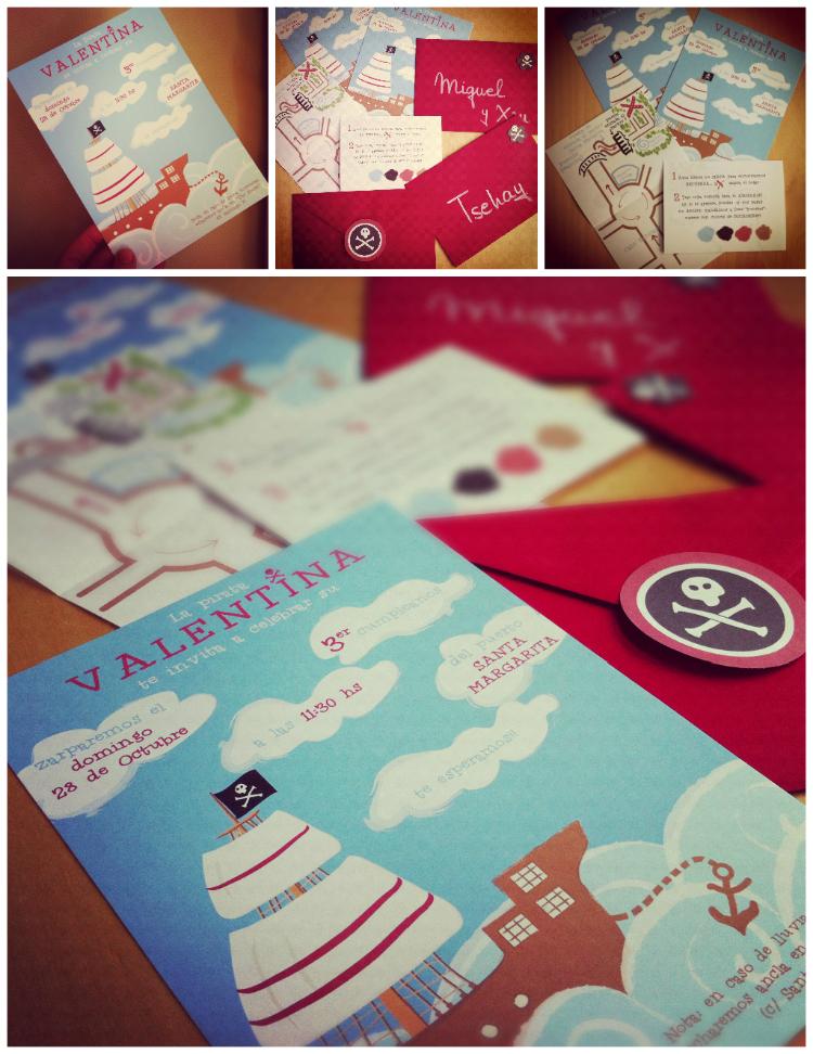Invitaciones collage blog