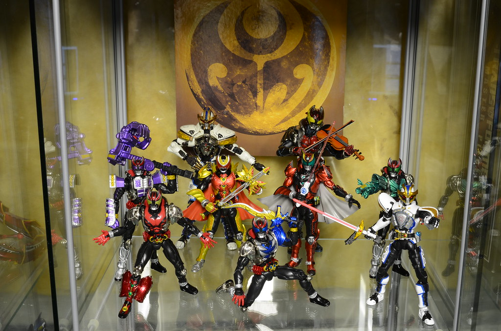 Kamen Rider Kiva Display
