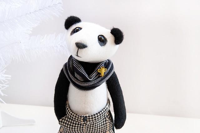 Panda boy - portret